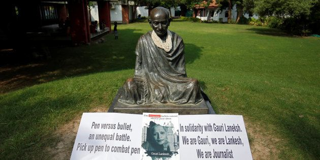 Gauri Lankesh Was Murdered By The Same Kind Of Gun That Killed The