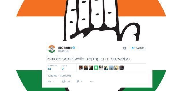 After Rahul Gandhi, The Congress Party's Official Twitter Account Gets
