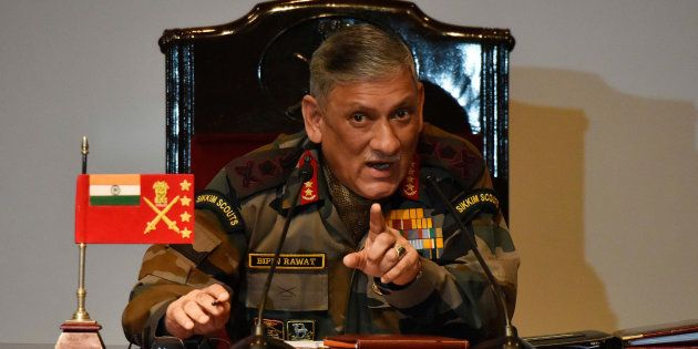 File photo of Army Chief General Bipin