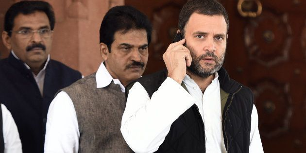 Congress vice president Rahul Gandhi in a file