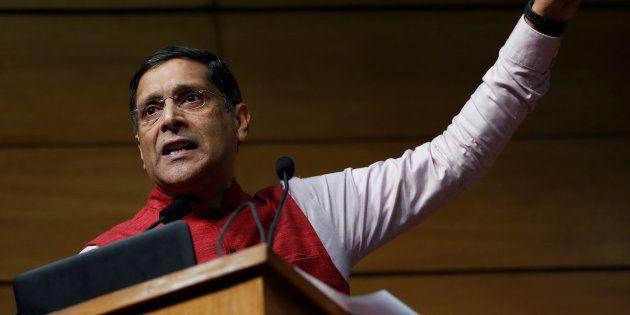 India's chief economic advisor Arvind