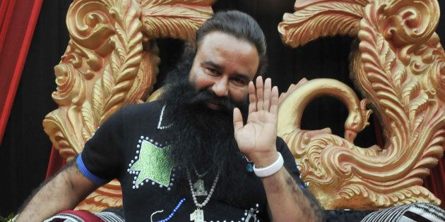 File photo of convicted Dera Saccha Sauda chief Gurmeet Ram Rahim