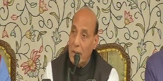 Kashmiri Minors Who Have Been Misguided Must Not Be Treated As Criminals, Says Rajnath