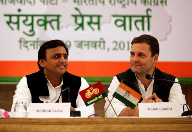 Samajwadi Party (SP) President and Chief Minister of the northern state of Uttar Pradesh Akhilesh Yadav...