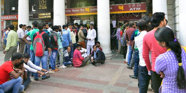 Demonetisation: Govt Employee Dies While Standing In ATM