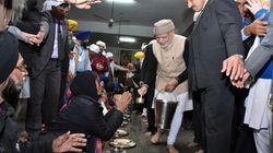 Narendra Modi First Prime Minister To Serve Langar At Golden