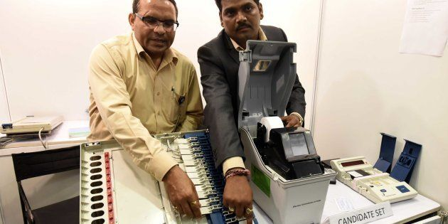 Election Commission Rejects AAP's Demand To Tamper With EVM Motherboard During