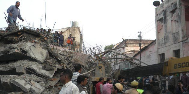 7 Killed, Dozens Injured As Under-Construction Building Collapses In