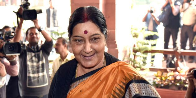 Sushma Swaraj Announces Release Of 5 Indians Jailed In West Africa's
