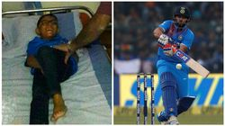 Despite Getting Hit By A Ball From Suresh Raina's Sixer, 6-Year-Old Boy Returns To Watch The