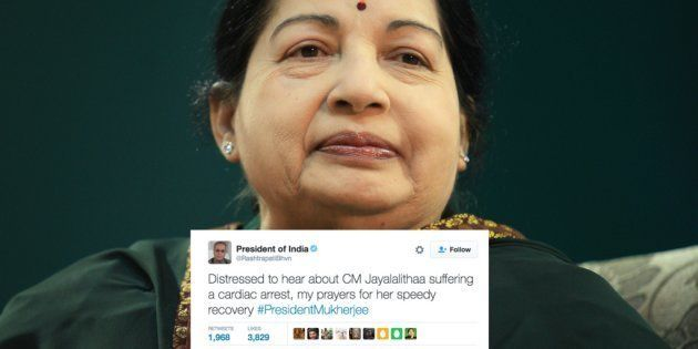 Prayers For Jayalalithaa's Speedy Recovery Pour In On