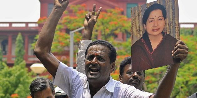 The situation in Chennai remains tense as AIADMK workers and supporters of Jayalalithaa are on the streets...
