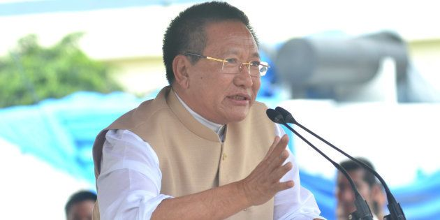 Nagaland CM Rejects Resignation