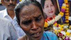 PHOTOS: 15 Pictures From Tamil Nadu That Capture Just How Shattered Amma Supporters Are Right