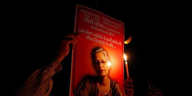 Journalist Gauri Lankesh Had Seen Her Murderers Clearly, Reveals CCTV