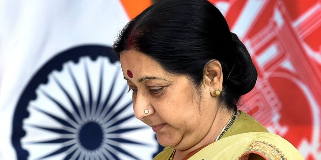 Minister of External Affairs Sushma Swaraj in a file