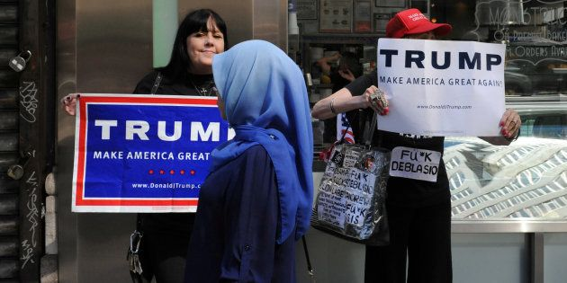 The Shadow Of Sharia Followed The Women's March In