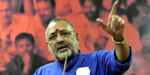 Shiv Sena Backs Union Minister Giriraj Singh On Sterilisation