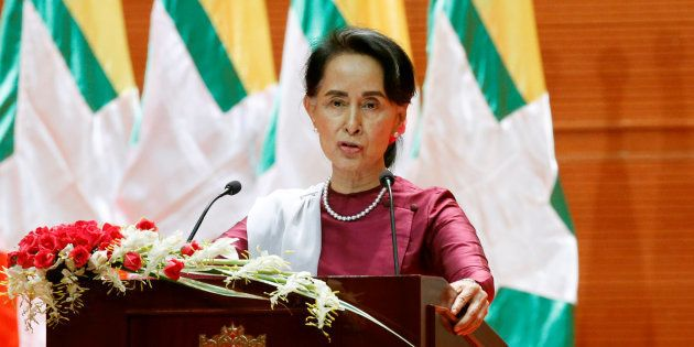 Aung San Suu Kyi Says Myanmar Doesn't Fear 'International Scrutiny' Over Rohingya