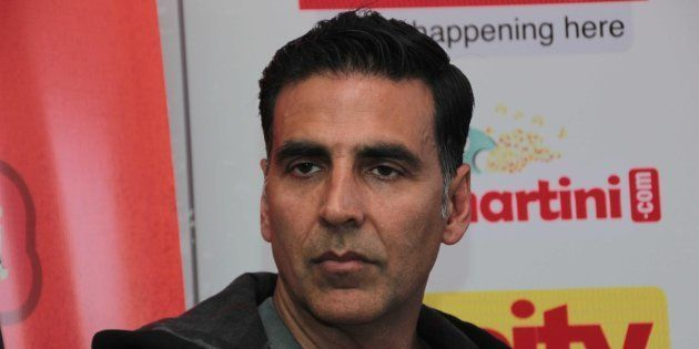 File photo of Bollywood actor Akshay