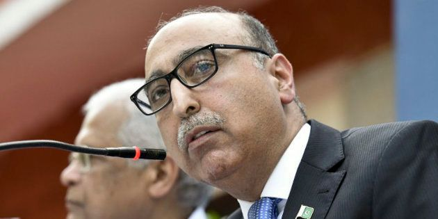 Pakistan High Commissioner Abdul Basit that Pakistan did not want to live in perpetual