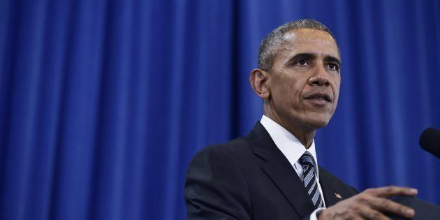 US President Barack Obama speaks on counterterrorism at MacDill Air Force Base in Tampa,