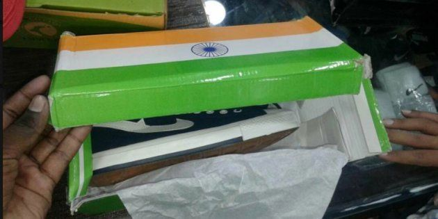 Kota Shopkeeper Booked For Selling Shoes In A Tricolour