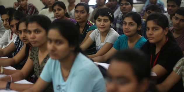 REPRESENTATIVE PHOTO: Students attend class at the Bansal Classes in Kota, Rajasthan, August 13,