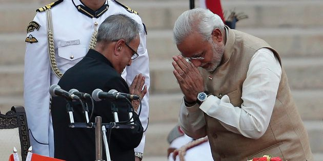 PM Modi Wishes President Pranab Mukherjee On His 81st