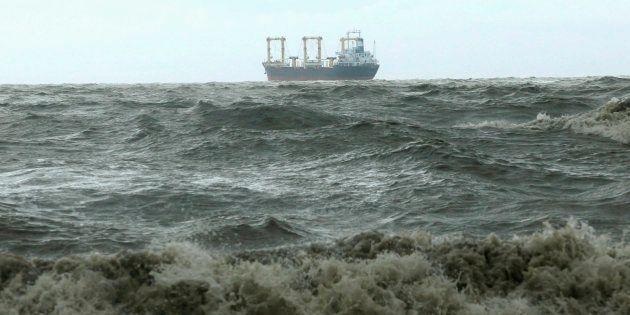 Indian Navy Rescues 27 Bangladeshis Drifting Out At Sea After Cyclone