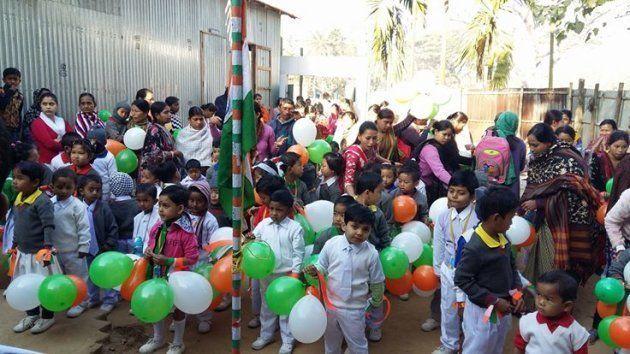 Bhowmik ran 'Manobik nursery' at his