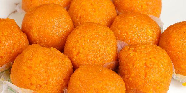 Laddoo - the popular Indian sweet