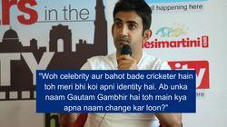Gautam Gambhir Vs Gautam Gambhir: Why The Cricketer Is Taking A Restaurateur To