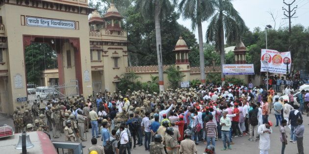 NHRC Sends Notice To BHU VC, Uttar Pradesh DGP Over Violence On