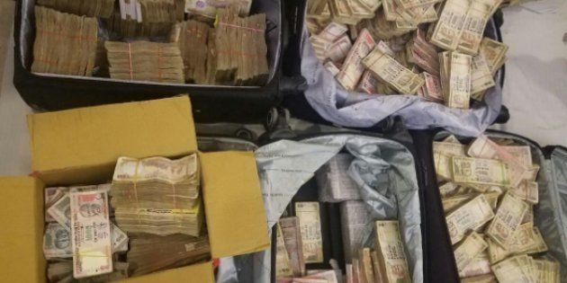 ₹3.25 Crore In Old Notes Seized From Hotel In Delhi's Karol