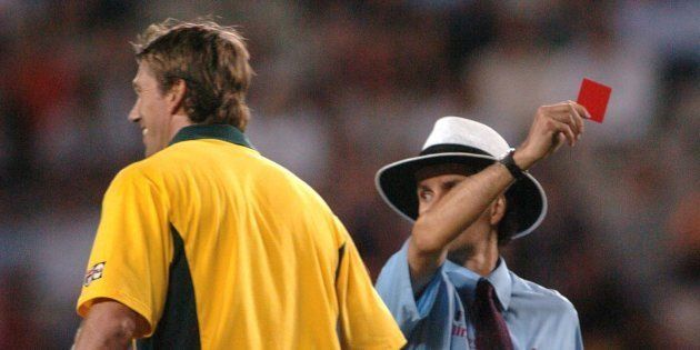 Just Like Football, There'll Be Red Cards In Cricket