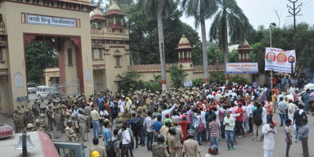 Amid Controversy, BHU's GC Tripathi Asked To Go On Leave As Government Looks For New