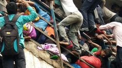 Stampede At Mumbai's Elphinstone Railway Station Kills 22, Injures