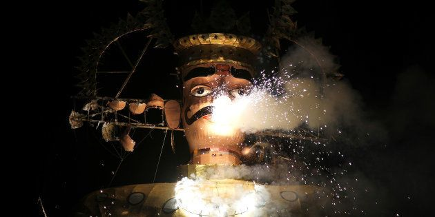 Tribal Groups In MP Threaten Legal Action Against Those Burning Effigies Of Ravana On