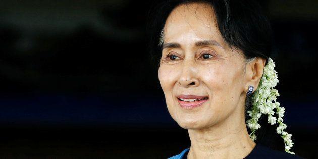 Oxford College Removes Portrait Of Aung San Suu