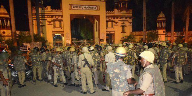 BHU VC GC Tripathi Goes On Indefinite