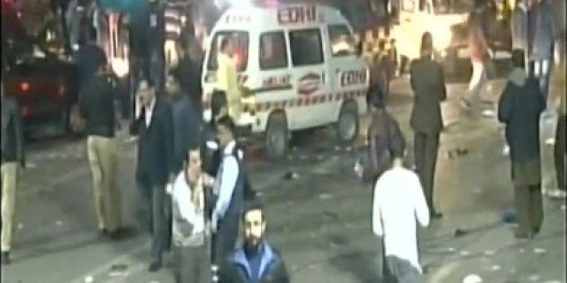 Lahore Bomb Blast Kills At Least 10, Injures