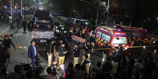 13 Killed, 83 Injured In A Suicide Attack In