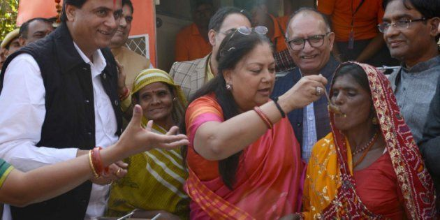 Like Amma Canteens In TN, Vasundhara Raje Launches 'Annapurna Rasoi' In