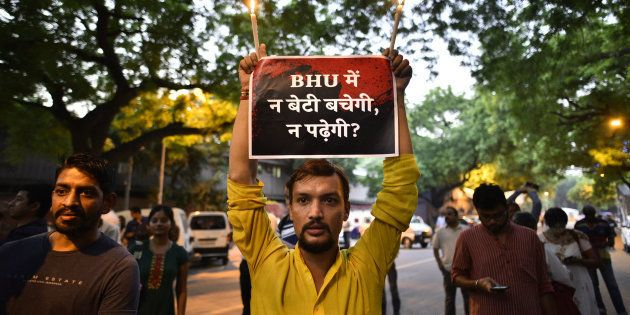 BHU Tried To Hush Up The Gangrape Of A Male Student On Campus Last
