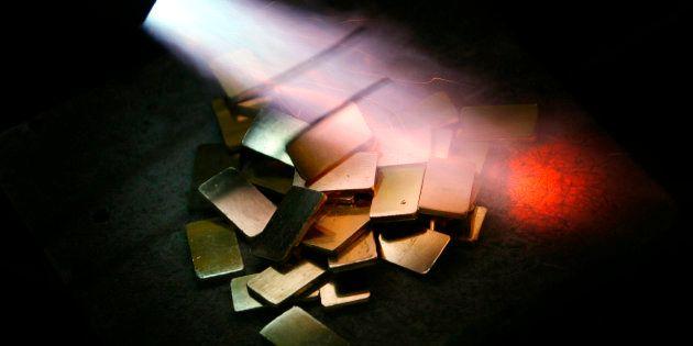 Representational image of gold