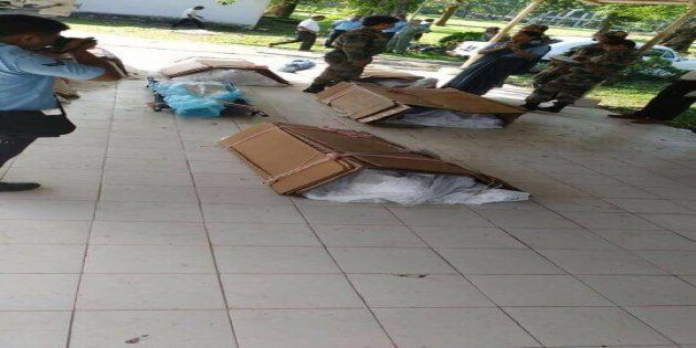 On Air Force Day, Bodies Of IAF Officials Arrive In Makeshift Cartons From