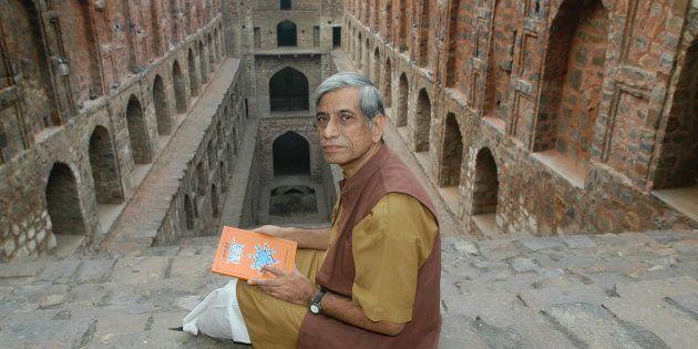 File photo of Anupam Mishra at Agrasen ki
