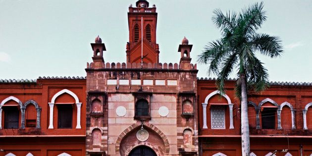 Aligarh Muslim University, Aligarh, Uttar Pradesh, India. (Photo by: IndiaPictures/UIG via Getty