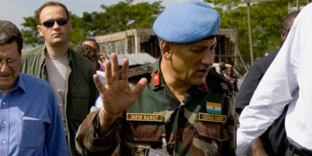 India's New Army Chief Walks In The Footsteps Of His Father, Who Was Deputy